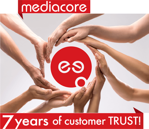 MediaCore Solution: 7 years customer trust