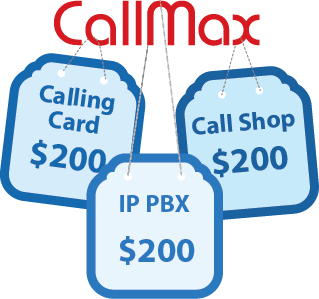 Callmax: IP PBX, Calling Card