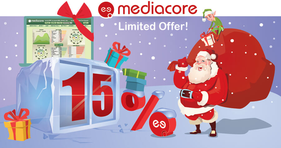 15% discount for the superb MediaCore SBC VoIP platform