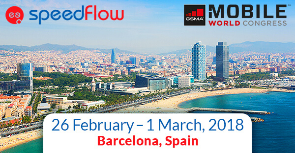 Speedflow Team is going to MWC Barcelona 2018