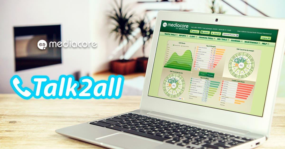 MediaCore testimonial by Talk2All