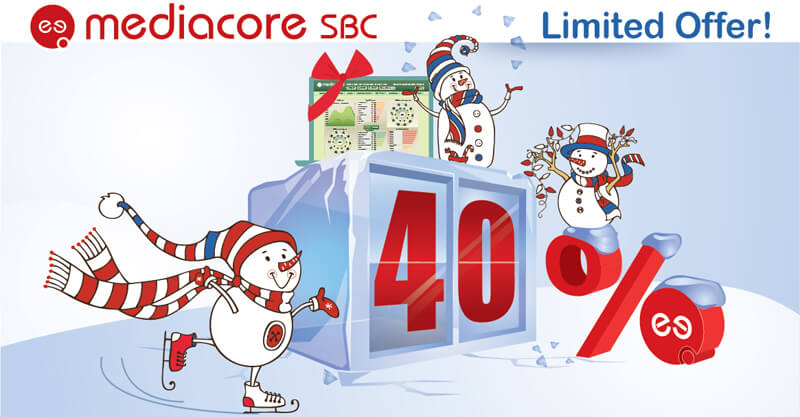 discounts for the superb MediaCore SBC