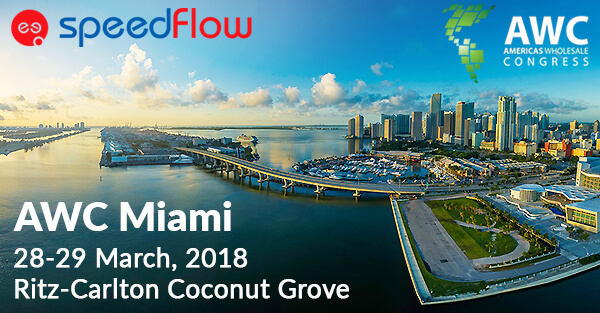 Meet Speedflow Communications's team at AWC 2018 Miami
