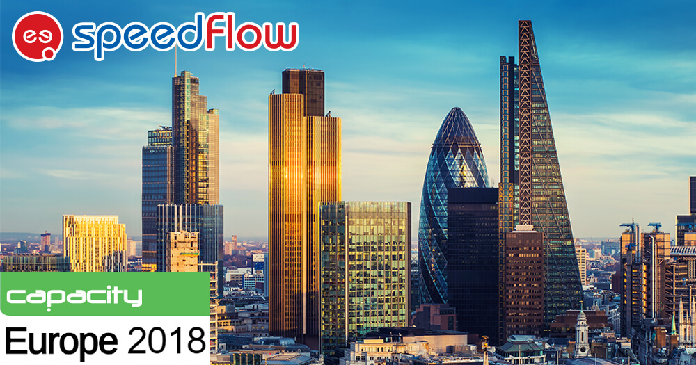 Meet Speedflow at Capacity Europe in London