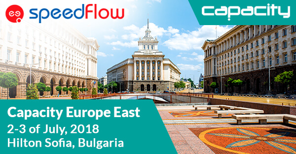 Meet Speedflow Team at Capacity Europe East 2018