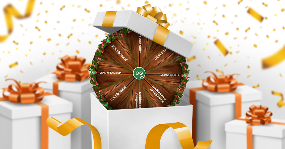 You Spin - You Win! MediaCore Festive offer!