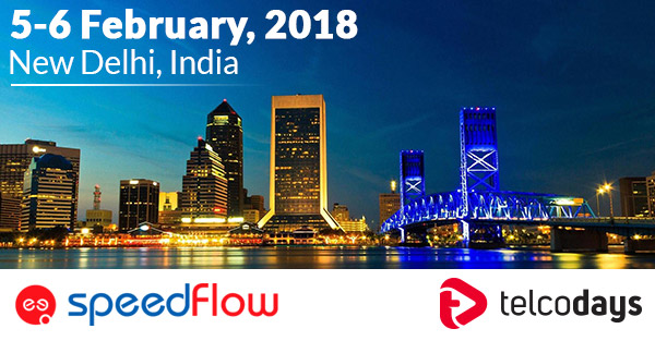Speedflow is attending Telcodays conference New Delhi in February 2018