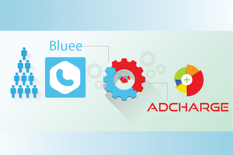 Bluee integrates AdCharge