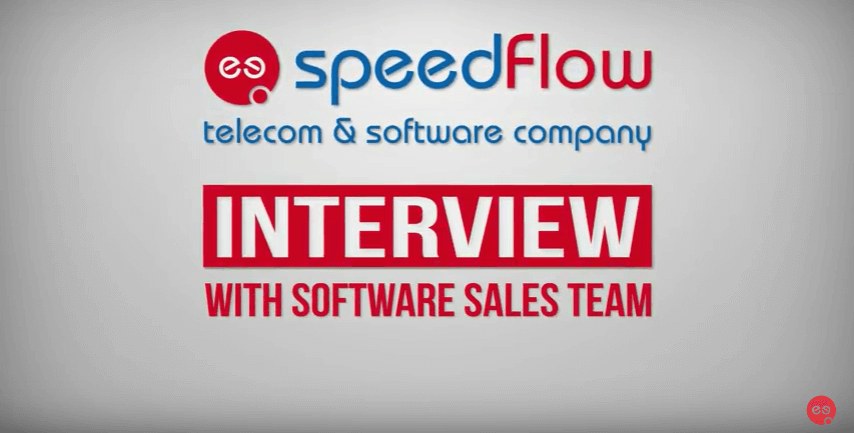 Software Sales video interview
