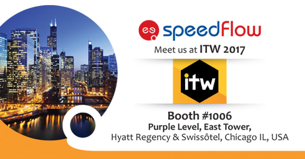 Meet Speedflow Team at ITW 2017