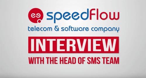 Video Interview - SMS services